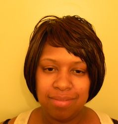 Sew-In on net frontView
