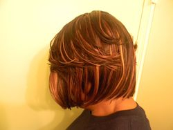 Naturally Treated wig sideview