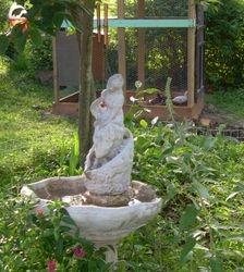 Fountain and Aviary