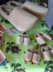 Izrada drvenih klompi