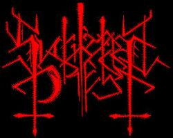 Slaughtered Priest's third logo