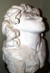 the woman head