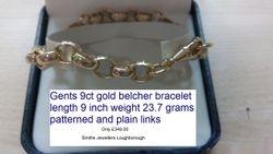 Belcher bracelet 23.7 grams