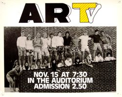 1985-1986 fall poster