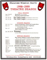1998-1999 Season Poster