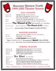 1999-2000 Season Poster