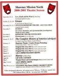 2000-2001 Season Poster