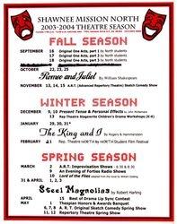 2003-2004 Season Poster