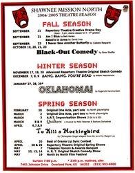 2004-2005 Season Poster