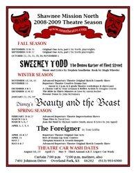 2008-2009 Season Poster