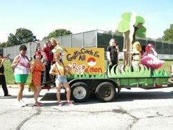 Homecoming parade 08-09