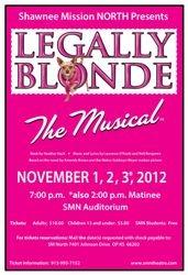 2012-2013 Legally Blonde