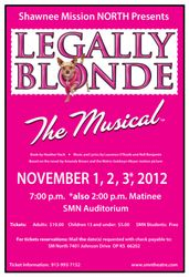 LEGALLY BLONDE '12-'13