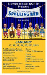 2012-2013 The 25th Annual Putnam County Spelling Bee