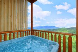 Hot tub with views!