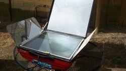 Tulsi hybrid Solar Oven