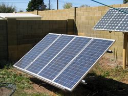 Evergreen Solar 120 watt panels