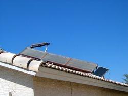 Solar wand sun system