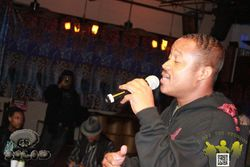 Jus Voice at Poetry in Motion
