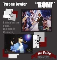 """Tyrone 'Roni"""" Fowler"""