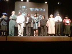 Cast of Moving Past the Past