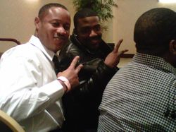Jus Voice and Ray J at the Sing-arama in LA 2011