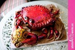 3D crab cake
