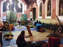 Preparations for Soundscape concert