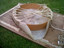 Making my drum