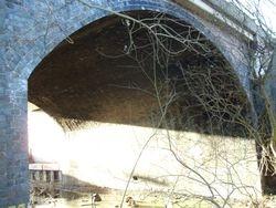 Closeup of Original Brownhills Bridge