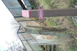 South Staffs Rail post