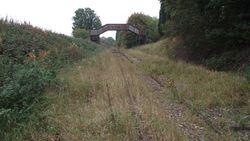 View toward Hammerwich and Lichfield