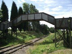 View from Lichfield Bound platform mound looking back