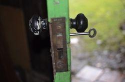 Original LNWR barrel lock
