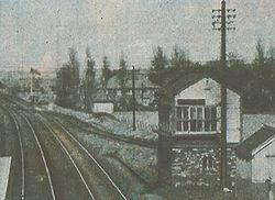 Hammerwich Signal box and Siding
