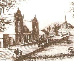 Lichfield City Station, 1800's