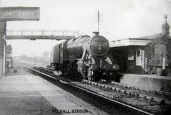 Locomotive at Pelsall