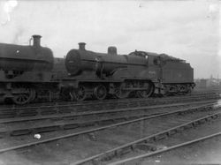 40692 on Bescot MPD in 1957