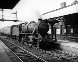 42957 at Bescot Station 1961
