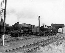 45684 & 40646 at Bescot 1958