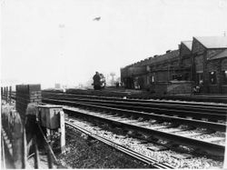 Bescot Shed (Wolverhampton Line) 1960