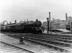 45687 at Walsall Station 1961