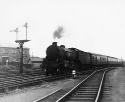 Dudley Zoo to Wakefield return excursion 1959