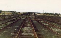Closed Yard, looking towards No3 Signal Box