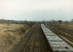 Norton Junction reception sidings