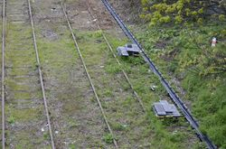 Cable ducting along the South Staffs Line