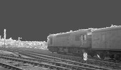 A Class 25 heads onto the South Staffs Line