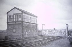 This photo was taken when the Old Tamworth road was used as a main route throughto Burton