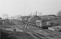 Class 31 passes Wednesbury Town