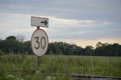 Wichnor Junction speed limit